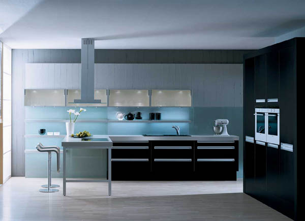Black Gloss Kitchens In Ireland By Surreal Kitchens Galway