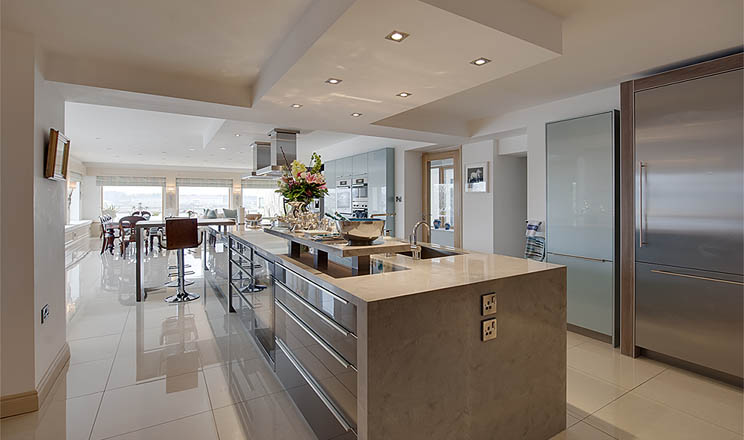Country Contemporary Kitchens By Surreal Galway Ireland