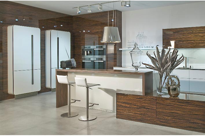 Eggersmann german kitchens design surreal designs galway for Hacker kitchen designs
